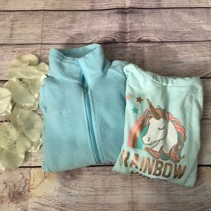 BUNDLE OF TWO GIRL'S SWEATERS